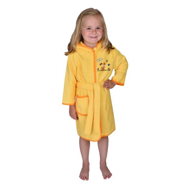 Giraffe gelb Kinder-Bademtl. Gr. 80-104