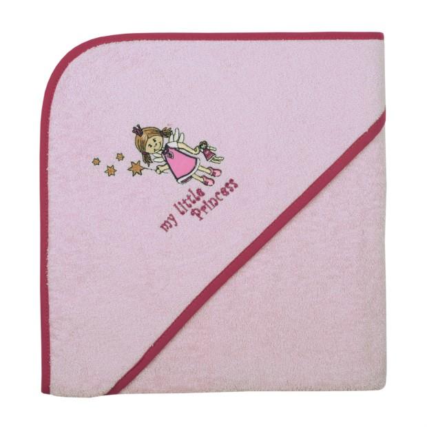 Little princess rosé Kapuzen-Bt. Größe 100/100