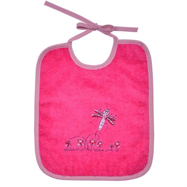 Schmetterling pink Lätzchen Größe 25/30