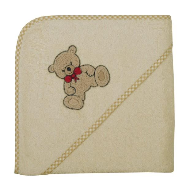 Teddy II natur Kapuzen-Bt. Größe 100/100