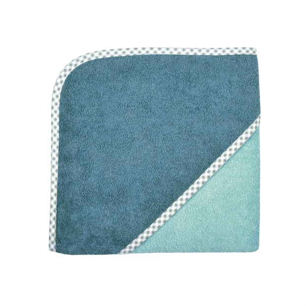 Uni kristallblau Kapuzen-Bt. Größe 80/80