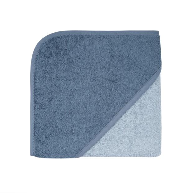 Uni stahl-dunkelblau Kapuzen-Bt. Größe 80/80